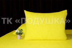 Купить желтые махровые наволочки на молнии в Челябинске