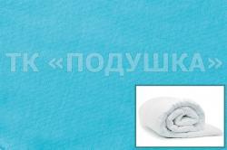 Купить голубой трикотажный пододеяльник в Челябинске