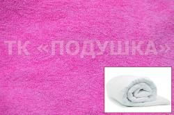 Купить розовый махровый пододеяльник  ТМ Подушка в Челябинске