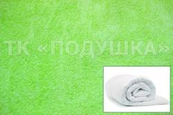 Купить салатовый махровый пододеяльник  в Челябинске